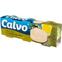 CALVO Tuńczyk w oliwie z oliwek 3 x 80 g