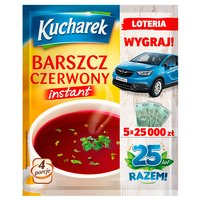 KUCHAREK Barszcz czerwony Instant