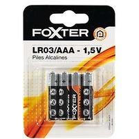 WIODĄCA MARKA Foxter Baterie alkaliczne LR03/AAA - 1,5V