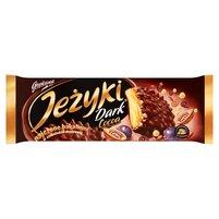 JEŻYKI Dark Cocoa Herbatniki w czekoladzie deserowej