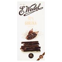 E. WEDEL Premium Czekolada ekstra gorzka 80% kakao