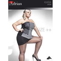 ADRIAN Kiara Size++ Rajstopy z dodatkowym klinem 20 den FUMO 6