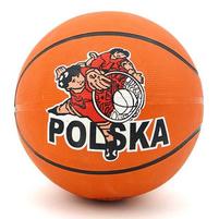 ADAR Piłka do koszykówki Polska 20cm