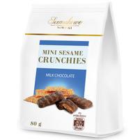 SEZAMKOWE NOWINKI Sezamki mini w czekoladzie mlecznej
