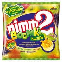nimm2 Boomki kwaśne Rozpuszczalne kulki strzelające sokiem wzbogacone witaminami