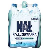 NAŁĘCZOWIANKA Woda mineralna delikatnie gazowana (6 x 1,5L)