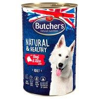 Butcher's Natural & Healthy Karma dla dorosłych psów pasztet z wołowiną i ryżem