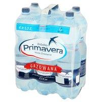 PRIMAVERA Woda źródlana gazowana (6 x 1,5L)