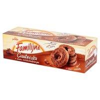 FAMILIJNE Ciasteczka o smaku czekoladowym