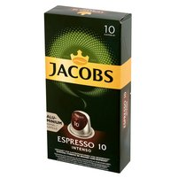 JACOBS Espresso Intenso Kawa mielona w kapsułkach (10 kaps.)