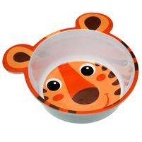 CANPOL BABIES Melaminowa miseczka antypoślizgowa z uszami 490ml pomarańczowa