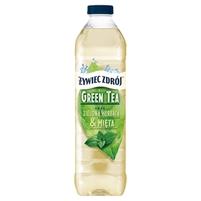 ŻYWIEC ZDRÓJ Green Tea Zielona herbata & Mięta Napój niegazowany