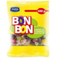 BAŁTYK BonBon Karmelki o smaku owocowym