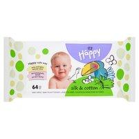 BELLA Baby Happy Silk & Cotton Chusteczki nasączone dla dzieci