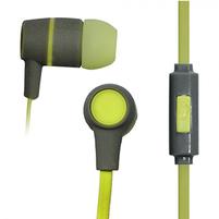 VAKOSS Słuchawki douszne z mikrofonem SK-214G zielone