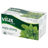 VITAX Zioła Herbatka ziołowa mięta strong (20 tb.)