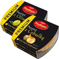 DROSED Podlaski Premium Pasztet z Oliwkami/z Cebulką