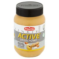 PRIMAVIKA Active Pasta orzechowa 100% orzeszków arachidowych