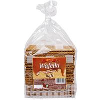 MK Wafelki w polewie toffi