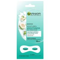 GARNIER Skin Naturals Moisture+ Maska pod oczy Coconut Water & Hyaluronic Acid
