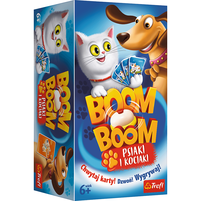 TREFL Boom Boom Psiaki i Kociaki Gra rodzinna (6+)