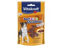 VITAKRAFT Beef Stick Quadros z wątróbką i ziemniakami Miękkie kawałki mięsa dla psów