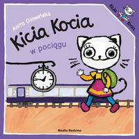 MEDIA RODZINA Kicia Kocia w pociągu (okładka miękka)