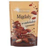 BAKALLAND Migdały w czekoladzie i cynamonie