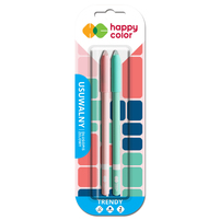 HAPPY COLOR Trendy Usuwalny długopis żelowy niebieski