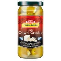 PRIMO GUSTO Melissa Duże oliwki greckie ręcznie nadziewane greckim serem