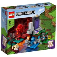 LEGO Minecraft Zniszczony portal 21172 (8+)