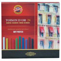 KOH-I-NOOR Pastele suche Toison D'or 12 kolorów