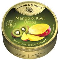 CAVENDISH & HARVEY Mango & Kiwi Cukierki z nadzieniem