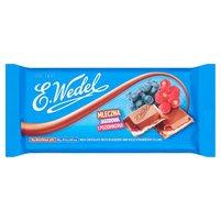 E. WEDEL Czekolada mleczna jagodowa i poziomkowa