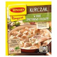 WINIARY Pomysł na... Kurczak w sosie śmietanowo-ziołowym