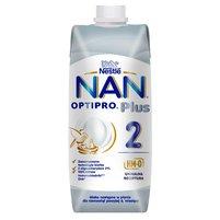 NAN OPTIPRO Plus 2 HM-O Mleko następne w płynie dla niemowląt po 6. miesiącu