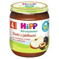 HiPP BIO Śliwki z jabłkami po 4. miesiącu