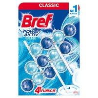 BREF WC Power Aktiv Zawieszka myjąco-zapachowa do muszli WC ocean (3 x 50 g)