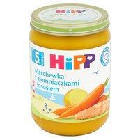 HiPP Marchewka z ziemniaczkami z łososiem po 5. m-cu