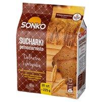 SONKO Sucharki pełnoziarniste (30 sztuk)