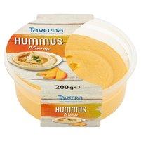TAVERNA Hummus Kremowy dip z ciecierzycy z pastą sezamową i mango