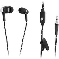 BLOW Słuchawki douszne z mikrofonem B-100 czarne