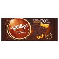 WAWEL 70% Cocoa Czekolada gorzka ze skórką pomarańczy