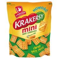 LAJKONIK Krakersy Mini ser i cebula