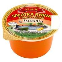 MK Sałatka rybna z warzywami z łososia