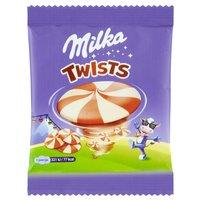 MILKA Twists Czekolada mleczna i biała