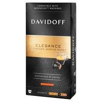 DAVIDOFF Café Grande Cuvée Espresso Gentle Roast Elegance Kawa palona mielona 10 kaps.