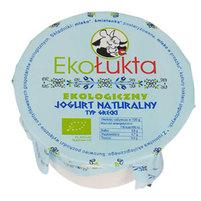 EKOŁUKTA Ekologiczny jogurt naturalny typ grecki