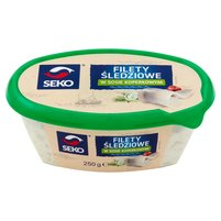 SEKO Filety śledziowe w sosie koperkowym