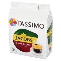 TASSIMO Jacobs Caffè Crema Classico Kawa mielona (16 kaps.)
